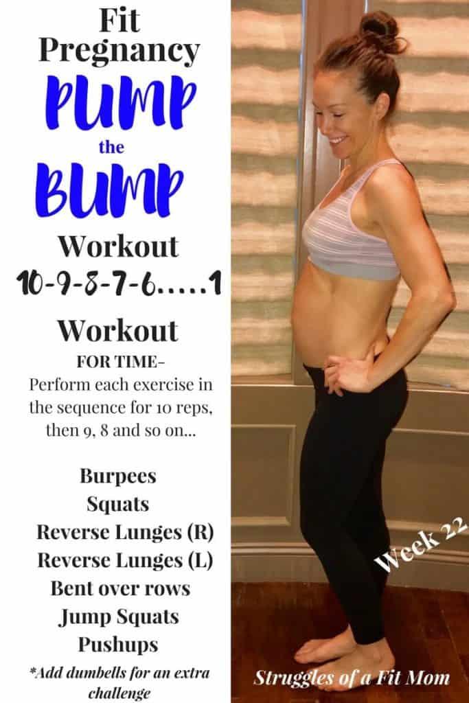 Quick Prenatal Workout