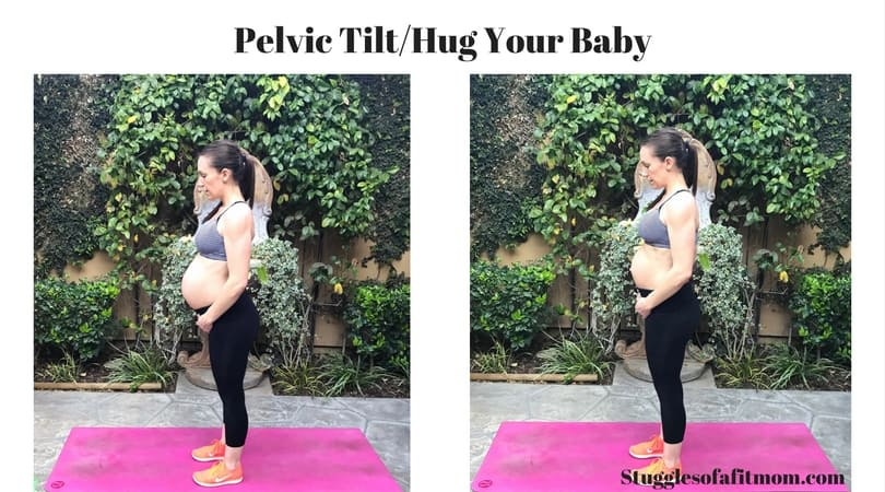 A few of my favorite prenatal core exercises: