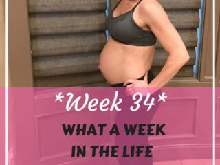 Week 34: Fit pregnancy update