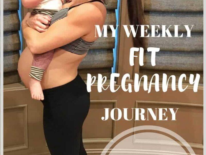 Week 38 Update fit pregnancy update