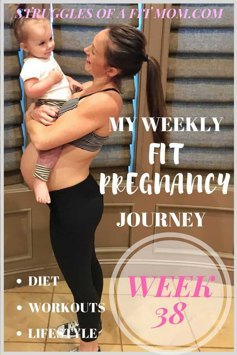 Week 38: Fit Pregnancy Update