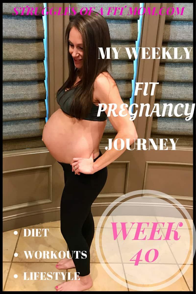 Weeks 39-41: Fit Pregnancy Update