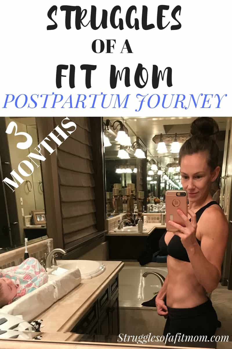 Struggles of a Fit Mom Postpartum Fitness Journey