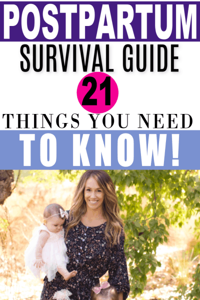 postpartum fourth trimester survival guide
