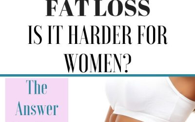 Fat Loss: Is It Harder For Women?
