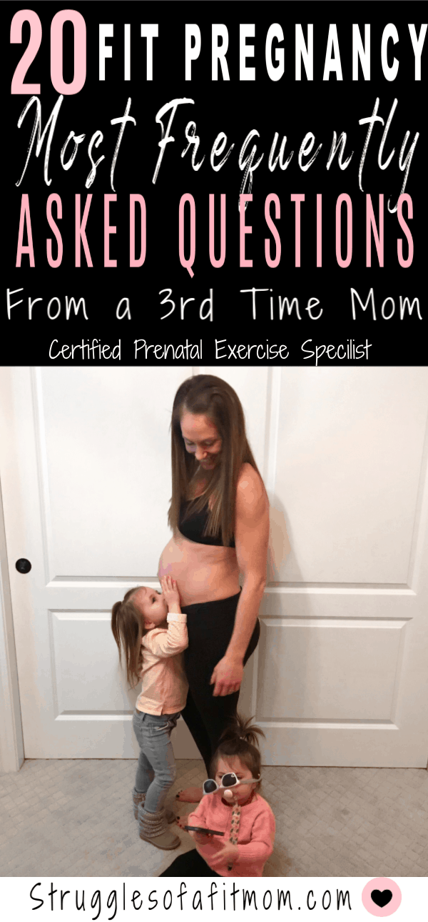20 of the most frequently asked questions for a fit pregnancy