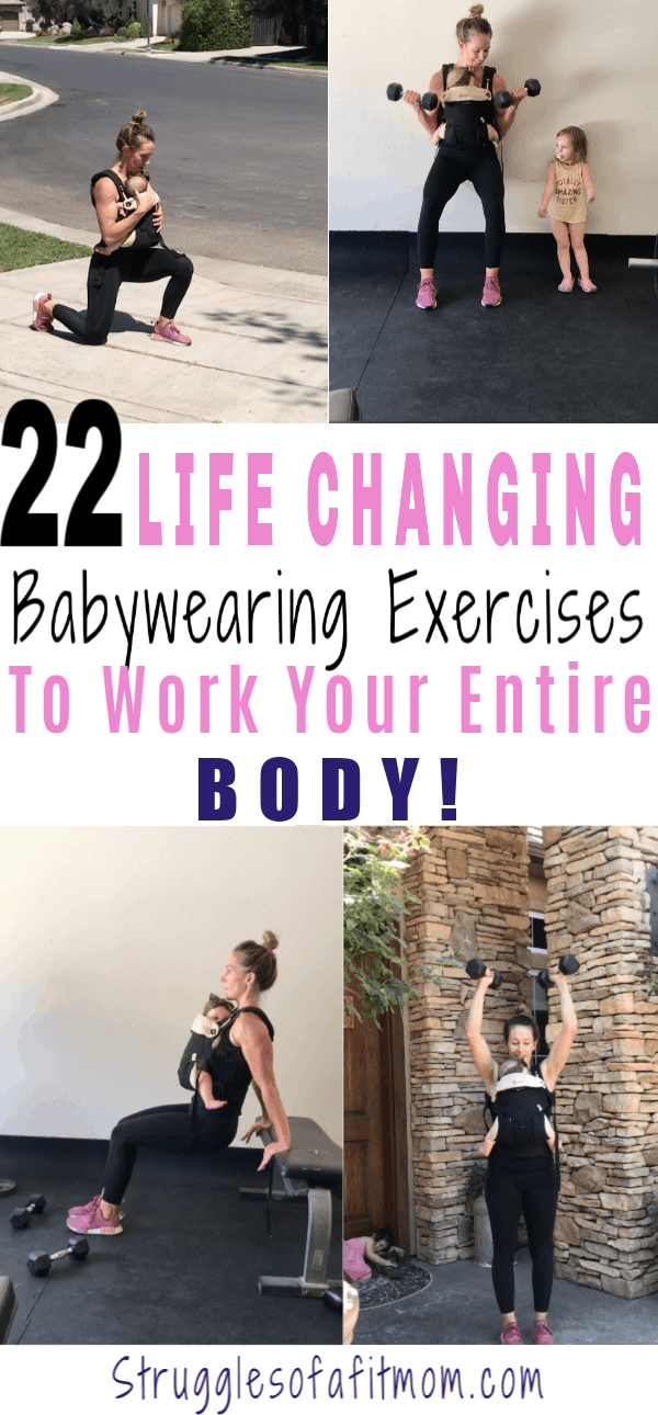 Babywearing exercises