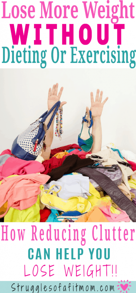 declutter organize lose weight