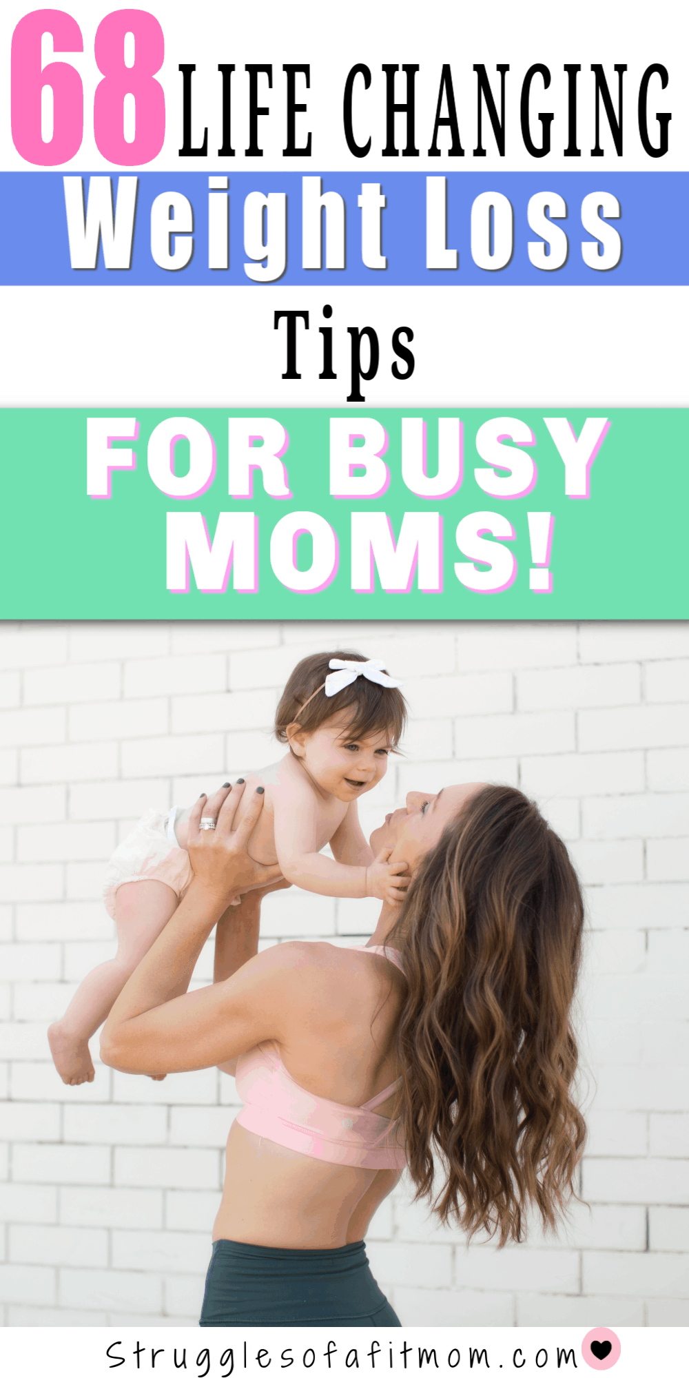 weight loss tips for moms who dont have time