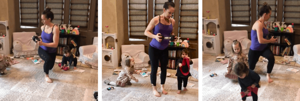 Prenatal Home Exercise- Reverse Lunge Twist