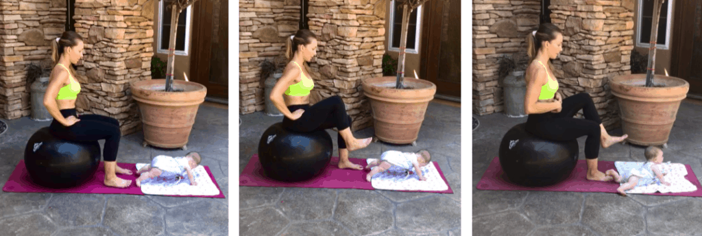 seated ball march