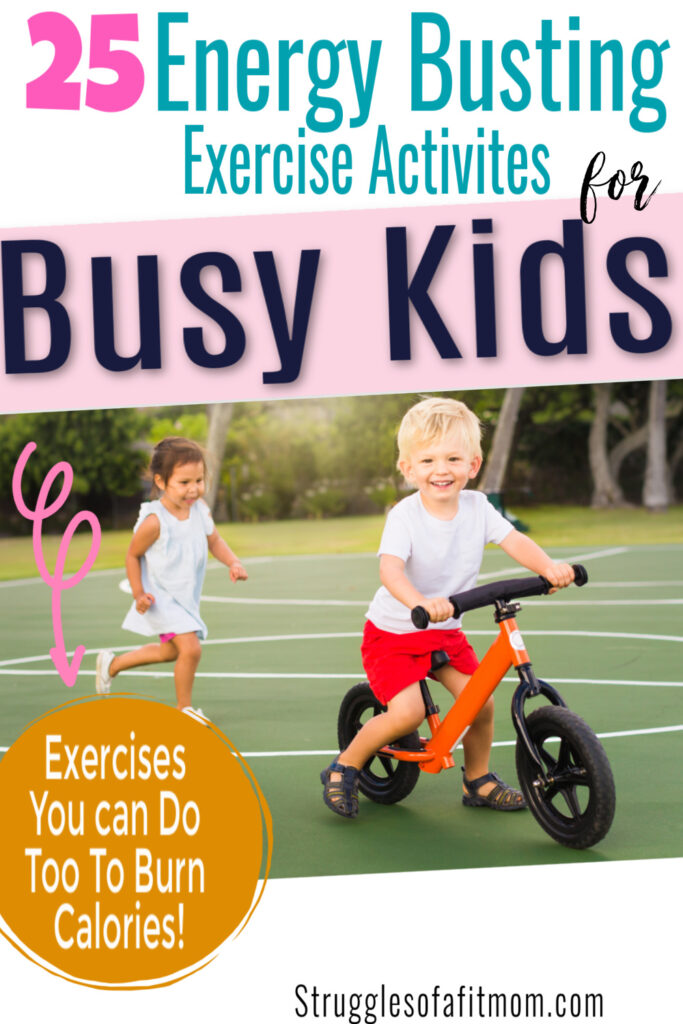 25 Fun energizing fitness workouts for kids that the whole family can do