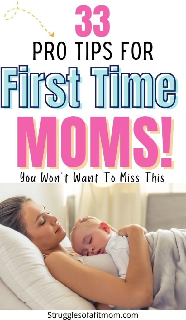 Tips for first time mom. Mom with new baby