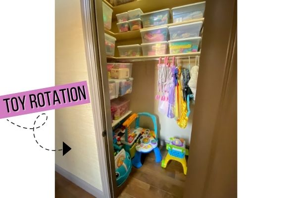 Toy storage ideas to keeping house clean with kids
