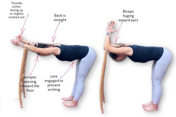 thoracic spine stretch for pregnancy back pain